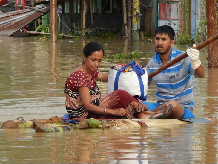 मुसळधार पावसाचा त्रिपूराला फटका, पुरामुळे 1 हजारांपेक्षा जास्त घरे उद्धवस्त|देश,National - Divya Marathi