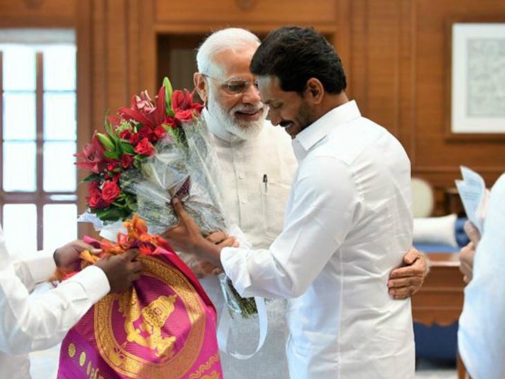 30 मे रोजी विजयवाडामध्ये शपथ घेणार जगन मोहन रेड्डी, शपथविधीचं पहिलं निमंत्रण मोदींना देश,National - Divya Marathi