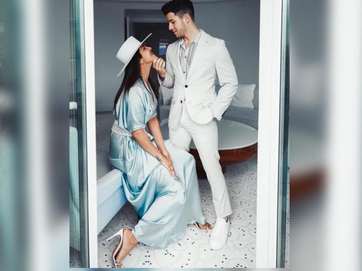 सोबतीचे एक वर्ष : निकने रोमँटिक पोस्टमध्ये लिहिले - 'तुझा पती असणे सन्मानाची बाब आहे प्रियांका...'  - Divya Marathi