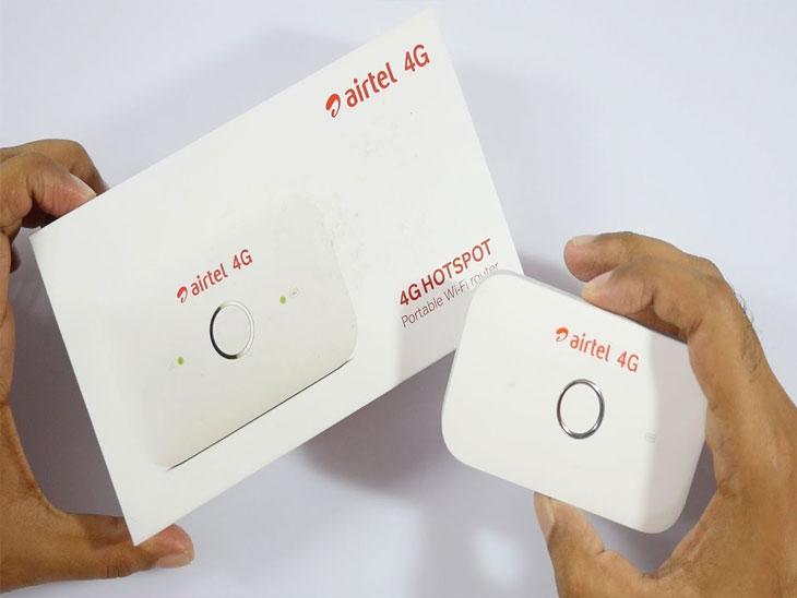 Airtel 4G Hotspot device सोबत फ्री मिळेल 126GB पर्यंतचा डाटा|बिझनेस,Business - Divya Marathi