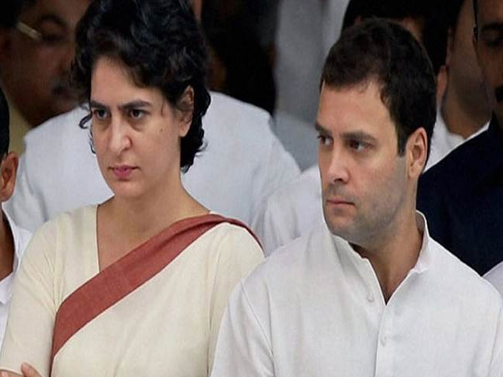 'जर राहुल यांनी राजीनामा दिला तर ते भाजपच्या जाळ्यात अडकतील'- प्रियंका गांधी|देश,National - Divya Marathi
