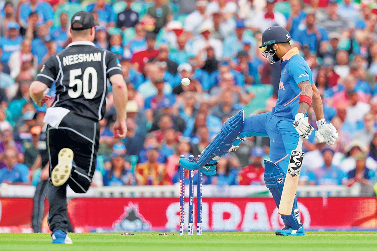 वर्ल्डकप  : भारतीय संघाचे टाॅप-७ फलंदाज अर्धशतकी खेळीत अपयशी; ६ गड्यांनी झाला पराभव|स्पोर्ट्स,Sports - Divya Marathi