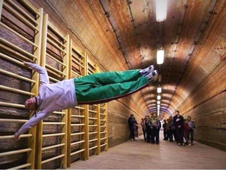 जमिनीत 400 मीटर खोल मीठाच्या खाणीत बनवले स्पा, दरवर्षी येतात 4 हजार पर्यटक| - Divya Marathi