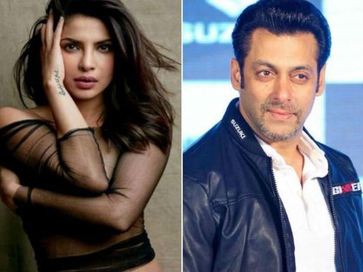 प्रियांका चोप्राच्या भारत सोडण्याबद्दल बोलला सलमान खान, म्हणाला - 'लग्नासाठी एक मोठा चित्रपट ठोकरने खूप कठीण बाब आहे'|देश,National - Divya Marathi