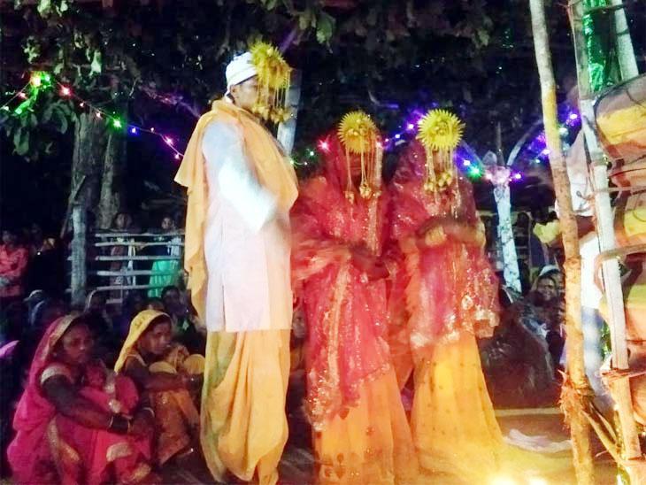 लग्नाची तयारी झाली अन् अचानक मांडवात येऊन धडकली नवरदेवाची प्रेयसी; दोघीही म्हणाल्या आम्हाला याच्यासोबतच लग्न करायचे... मग घडले असे काही... देश,National - Divya Marathi