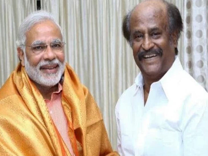 मोदींच्या शपथविधीला येणार रजनीकांत, म्हणाले- 'जवाहरलाल नेहरु आणि राजीव गांधींप्रमाणे करिश्माई नेते आहेत मोदी'|देश,National - Divya Marathi