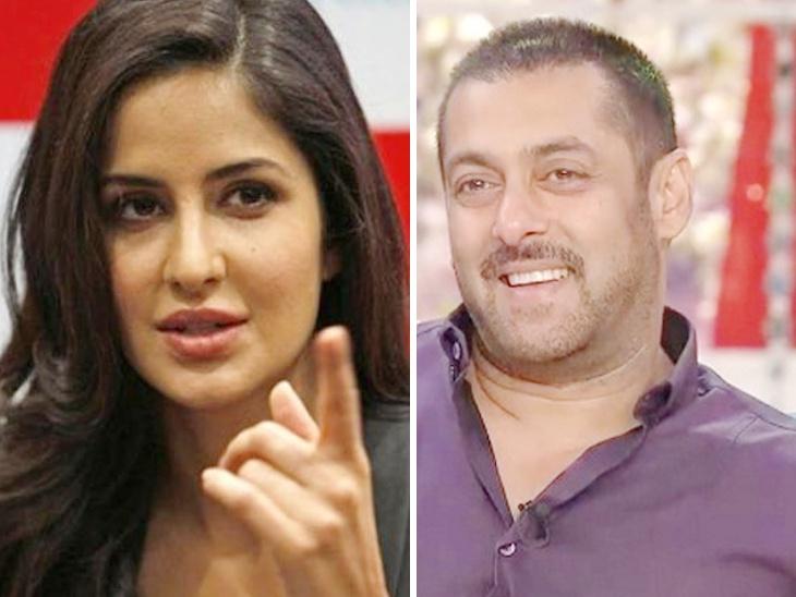 'भारत' चित्रपटाच्या प्रमोशनदरम्यान म्हणाला सलमान खान - 'कतरिनाने लग्न करून मुलांना जन्म दिला पाहिजे'  - Divya Marathi
