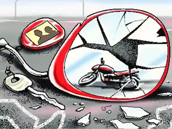 भरधाव टिप्परची धडक; दुचाकीवरील दांपत्य ठार;  टिप्पर चालक दारू प्यायलेला|औरंगाबाद,Aurangabad - Divya Marathi