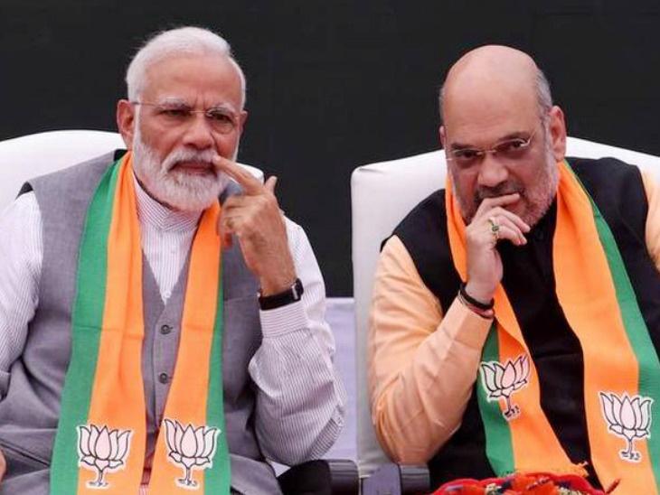 मंत्रिमंडळाबाबत मोदी-शाह यांच्यात 5 तास बैठक, नवीन चेहऱ्यांचा विचार; पंतप्रधानांसोबत 65 मंत्री घेऊ शकता शपथ|देश,National - Divya Marathi