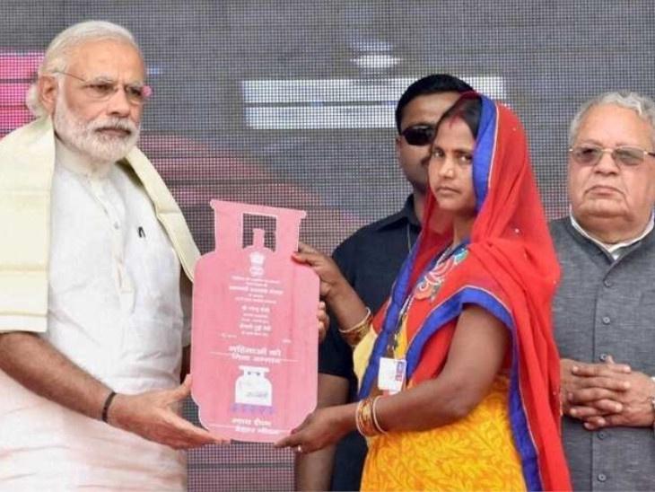 उज्जवला योजनेअंतर्गत 100 दिवसांत आठ कोटी लोकांना गॅस कनेक्शन देण्याचा सरकारचा निर्धार; आता मिळणार पाच किलोचा छोटू सिलेंडर|देश,National - Divya Marathi