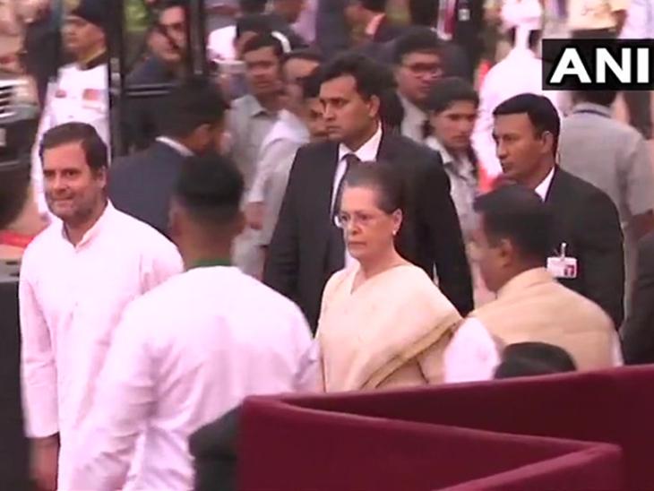 'मै नरेंद्र दामोदरदास मोदी...'  सलग दुसऱ्यांदा पंतप्रधान पदी मोदी शपथबद्ध; मंत्र्यांच्या शपथविधीला सुरुवात|देश,National - Divya Marathi