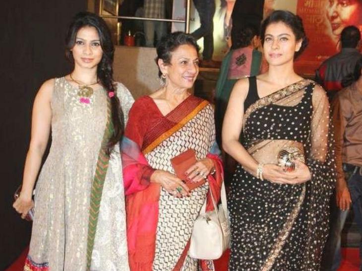 पोटाच्या आजाराने ग्रस्त आहेत 75 वर्षांच्या अभिनेत्री तनुजा, काल रुग्णालयात केले होते दाखल, आज होणार आहे सर्जरी| - Divya Marathi