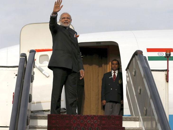 पहिल्याच महिन्यात मोदी २० हजार किमी प्रवास करून २० नेत्यांना भेटणार देश,National - Divya Marathi