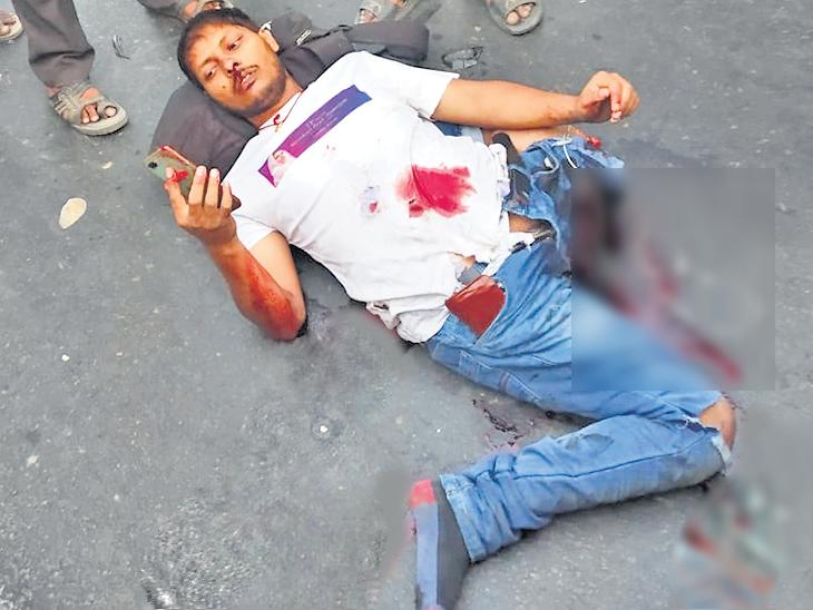 इयरफोन लावून बाइक चालवताना ट्रकने चिरडले, पत्नीला शेवटचा व्हिडिओ कॉल करून घेतला अखेरचा श्वास|देश,National - Divya Marathi