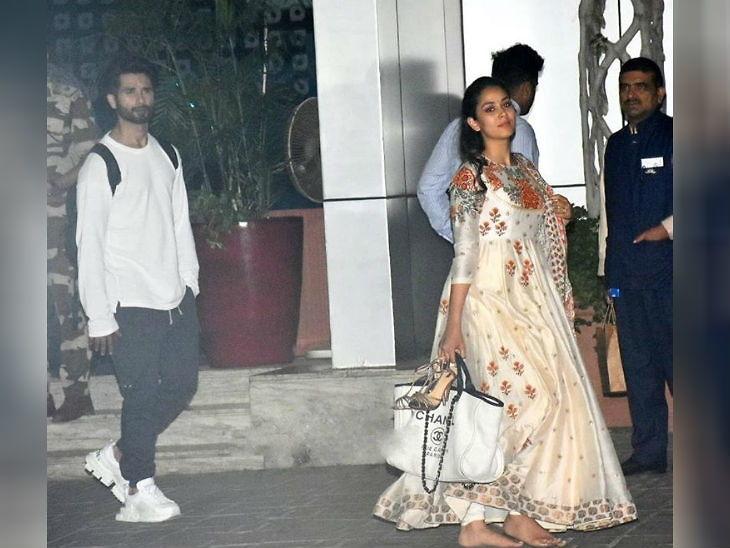 शपथ सोहळ्यातून हातात सॅंडल घेऊन परतली मीरा राजपूत, सोशल मीडियावर झाली ट्रोलिंगची शिकार| - Divya Marathi