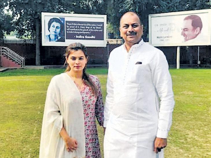 काँग्रेस नेते हर्षवर्धन पाटील यांच्या कन्या अंकिताची राजकारणात एन्ट्री; जिल्हा परिषदेच्या पोटनिवडणुकीसाठी भरणार अर्ज|पुणे,Pune - Divya Marathi