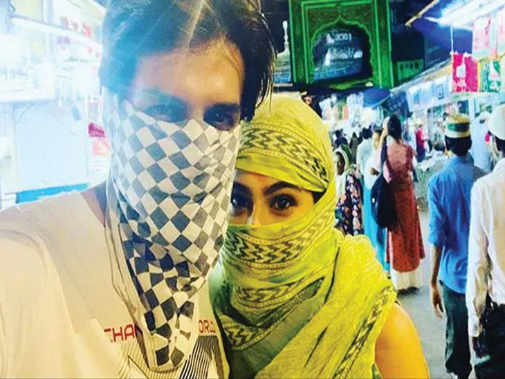 सोनूसोबत चेहरा लपवत ईद साजरी करण्यासाठी निघाली होती सारा अली खानने, आता फोटो होत आहे व्हायरल| - Divya Marathi