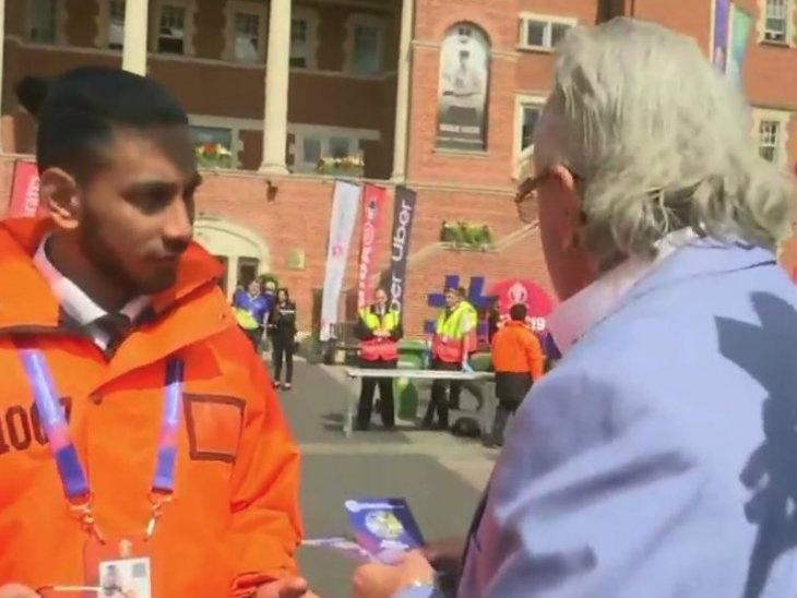 WorldCup/  भारत-ऑस्ट्रेलिया सामना पाहण्यासाठी पोहचला विजय माल्या, लोकांनी सुरू केल्या 'चोर-चोर'च्या घोषणा|विदेश,International - Divya Marathi