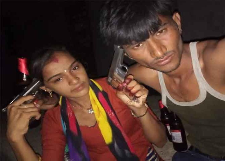'इशकझादे'/ प्रेमी युगुलाने एकमेकांवर पिस्तुल रोखून संपवली जीवनयात्रा देश,National - Divya Marathi