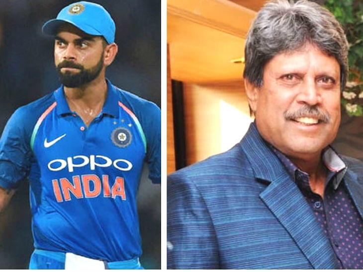 कोहली माझ्यापेक्षाही उत्कृष्ट कर्णधार, पाकिस्तानला कधीही नमवू शकतो विद्यमान भारतीय संघ -कपिल देव क्रिकेट,Cricket - Divya Marathi
