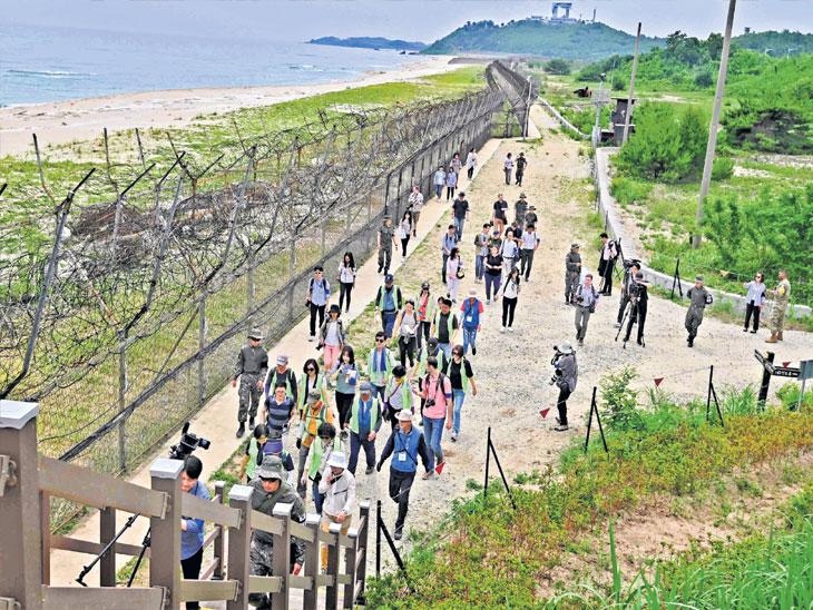 दक्षिण कोरियाने सर्वात धोकादायक सीमा पर्यटकांसाठी केली खुली|विदेश,International - Divya Marathi