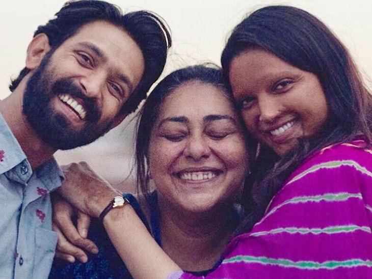जेव्हा विक्रांत मेसीला भेटण्यासाठी आपल्या लग्नातून पळून आली होती एक नवरी, सेटवर करत राहिली गोंधळ| - Divya Marathi