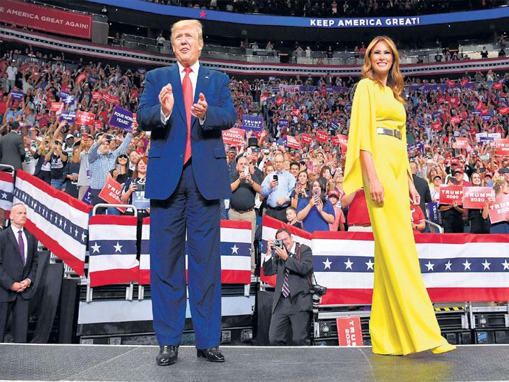 २०२० अमेरिका राष्ट्राध्यक्ष निवडणूक  : डोनाल्ड ट्रम्प यांची आतापासूनच प्रचार मोहीमेला सुरुवात; अमेरिकेला आणखी महान बनवू - ट्रप्म विदेश,International - Divya Marathi