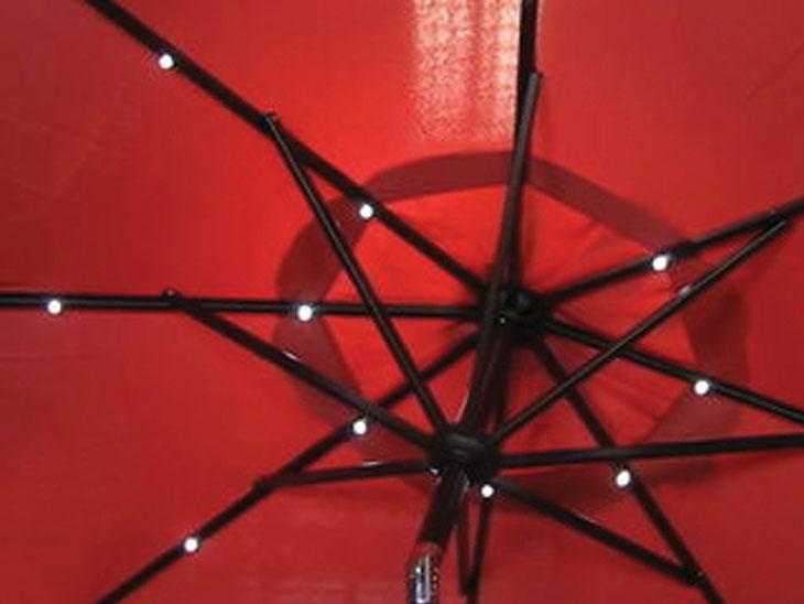 Smart Umbrella : 9 फूट उंच छत्रीत ब्लूटूथ स्पीकर, LED लाइट आणि फोन चार्जिंग पोर्टची सुविधा, सौरऊर्जेवर करते काम|बिझनेस,Business - Divya Marathi