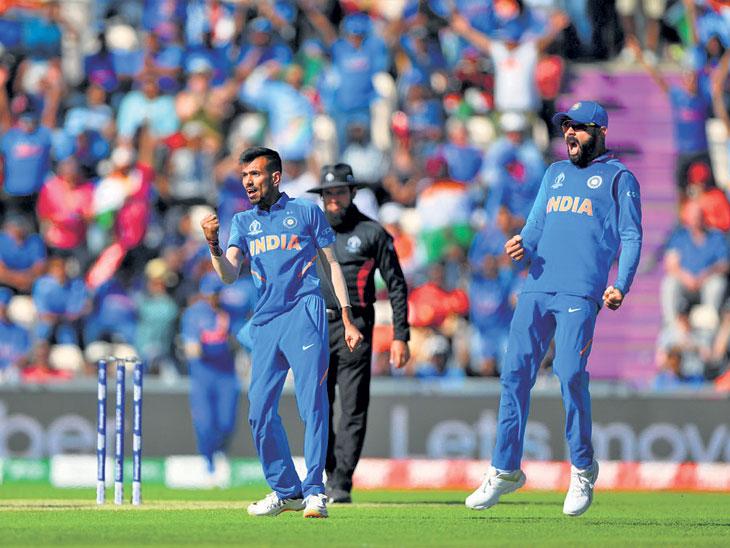 सर्वात कमकुवत अफगाणविरुद्ध बलाढ्य भारताचा कठीण विजय; वर्ल्डकपमध्ये दुसऱ्यांदा  सुरुवातीच्या ५ सामन्यांत विजयी|स्पोर्ट्स,Sports - Divya Marathi