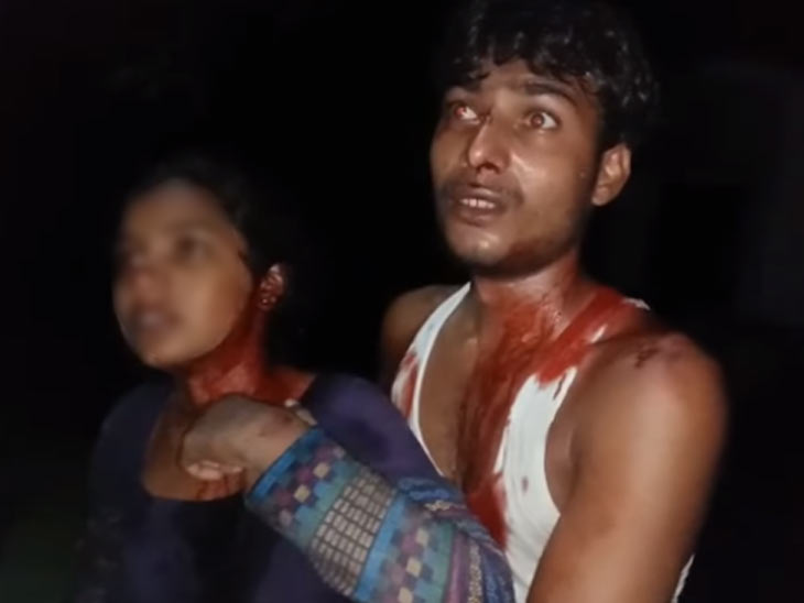 रक्तरंजित बहिणीला घेऊन पोलिस स्टेशनमध्ये पोहोचला युवक, पोलिसांनी तक्रार न घेताच हकलून लावले देश,National - Divya Marathi