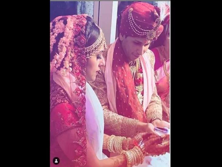 अभिनेत्री आरती छाबडियाने गुपचुप केले लग्न, सलमानच्या अभिनेत्रीचे लग्नाचे फोटो झाले व्हायरल| - Divya Marathi