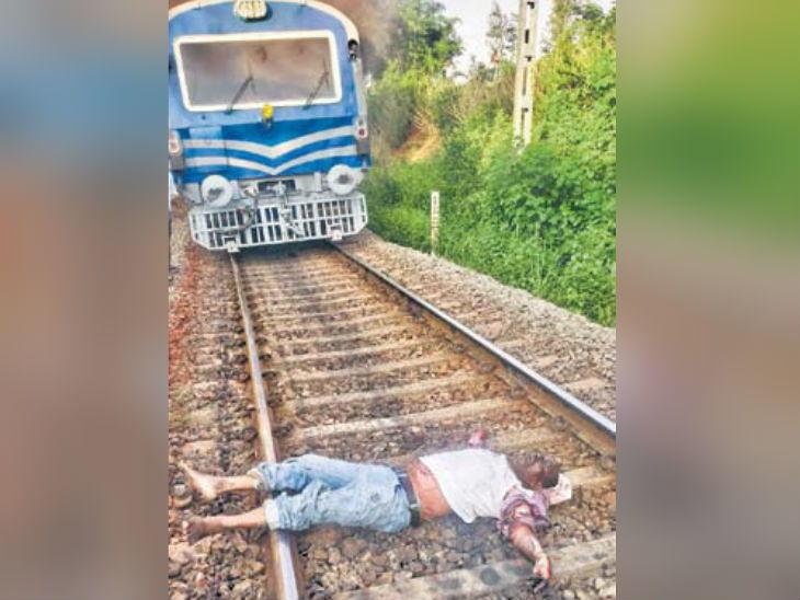 मेंटेनंस टॉवर कार आणि समलेश्वरी एक्सप्रेसमध्ये जोरदार टक्कर, आग लागून 2 जण जिवंत जळाले, तर एकाचा खाली पडून मृतू|देश,National - Divya Marathi