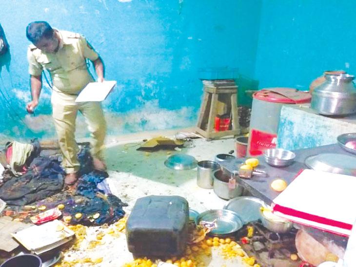 खराबवाडीत घरगुती गॅस सिलिंडरचा स्फोट, गॅस गळती झाल्याने पहाटे घडली दुर्घटना; एकाचा मृत्यू|पुणे,Pune - Divya Marathi