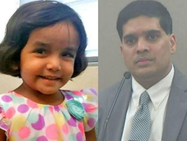 दत्तक घेतलेल्या 3 वर्षीय मुलीच्या हत्येमध्ये वडील दोषी, मरेपर्यंत तुरुंगात राहण्याची शिक्षा विदेश,International - Divya Marathi