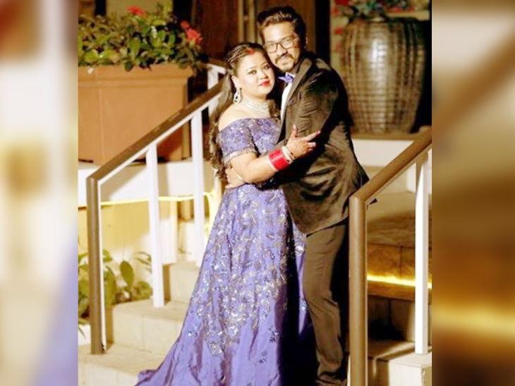 आठ दिवसांपूर्वीच भारती सिंगने साजरा केला वाढदिवस, पती हर्षने शोच्या सेटवर दिले सरप्राइज| - Divya Marathi