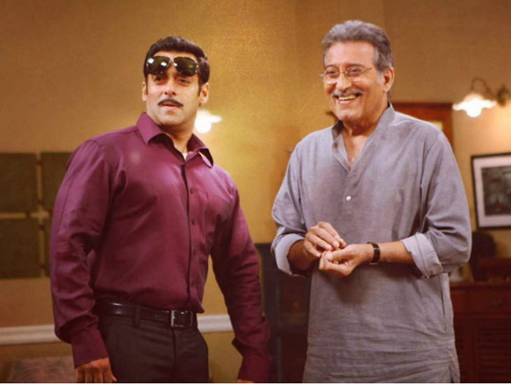 दबंग 3 मध्ये हा अभिनेता साकारणार चुलबुल पांडेच्या वडिलांची भूमिका, सलमानने सोशल मीडियावर केला इंट्रो| - Divya Marathi