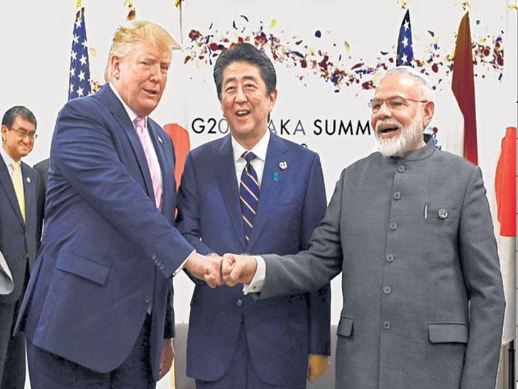 जपानमध्ये जी-२० परिषद : जपान, अमेरिका, इंडियाचा अर्थ 'JAI' म्हणजे विजयश्री : पंतप्रधान मोदी, जपानचे जे, अमेरिकेचे-ए, इंडियाचे आय जोडून तिन्ही देश लोकशाहीला समर्पित|विदेश,International - Divya Marathi