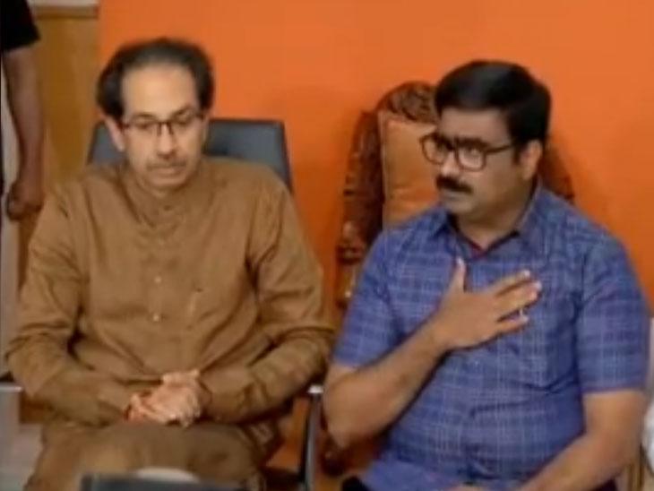 मराठा क्रांती मोर्चा समन्वयक विनोद पाटील उद्धव ठाकरेंच्या भेटीला, म्हणाले-' मोर्चाला पाठिंबा दिल्याबद्दल पक्षाचे आभार...' मुंबई,Mumbai - Divya Marathi