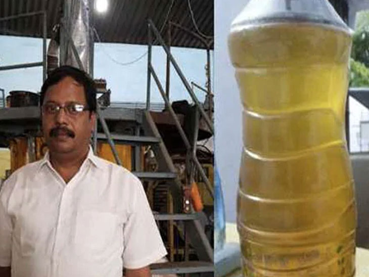 हैद्राबादच्या प्राध्यापकांनी प्लास्टिकपासून बनवले पेट्रोल, किंमत 40 रूपये प्रति लीटर देश,National - Divya Marathi