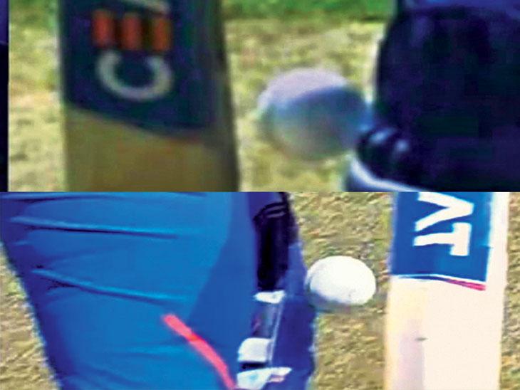 रोहित शर्माने बाद झाल्याचे छायाचित्र केले शेअर; विंडीजविरुद्ध रोहितला झेलबाद दिले होते क्रिकेट,Cricket - Divya Marathi