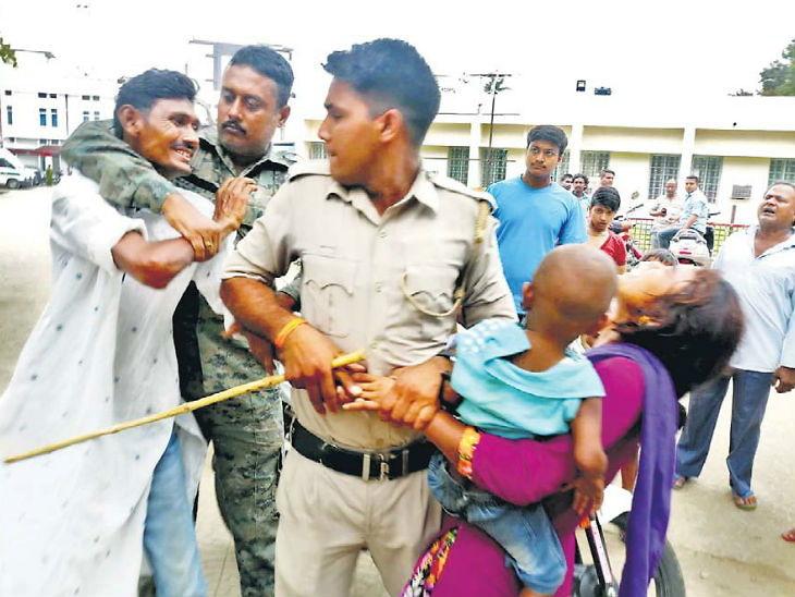 घटस्फोट घेतल्याशिवाय परपुरुषासोबत राहायची पत्नी, पतीने भररस्त्यात केली मारहाण|देश,National - Divya Marathi