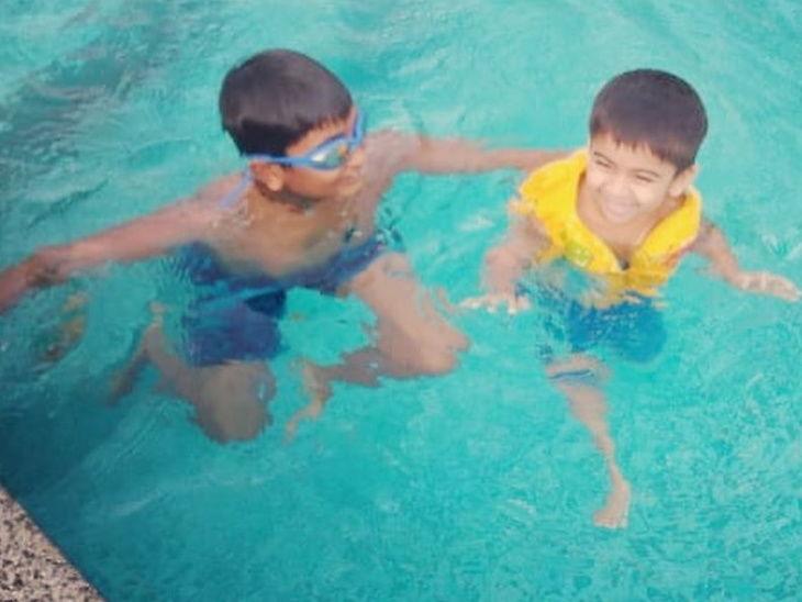 चेन्नईला जलसंकटाने घेरलेले असतांना स्विमिंग पूलमध्ये एन्जॉय करताना दिसली रजनीकांत यांची मुलगी सौंदर्या, युजर्स करत आहेत ट्रोल| - Divya Marathi