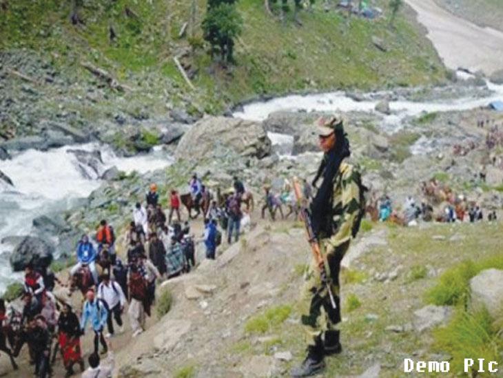 अमरनाथ यात्रेसाठी आरओपी आता २४ तास राहील तैनात|देश,National - Divya Marathi