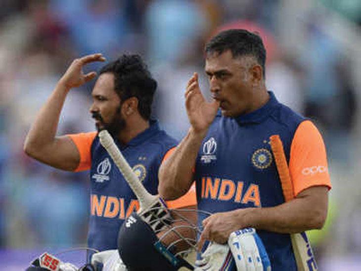 महेंद्रसिंह धोनी - केदार जाधवच्या संथ फलंदाजीमुळे भारताचा पराभव; दिग्गजांनी दोघांवर केली टीका|क्रिकेट,Cricket - Divya Marathi