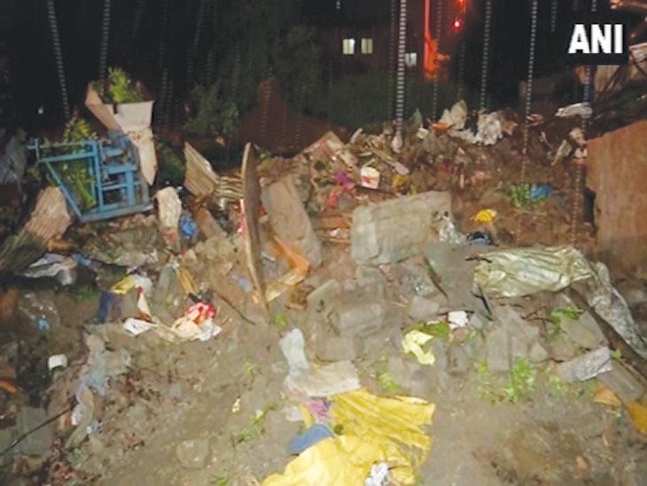 कोंढवाची पुनरावृत्ती : पुण्यात कात्रज परिसरात भिंत कोसळून 6 जणांचा मृत्यू, 5 जण जखमी; सर्व पीडित छत्तीसगडचे|पुणे,Pune - Divya Marathi