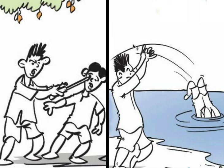 क्षुल्लक कारणावरून 5 आणि 8 वर्षीय भावंडांनी स्क्रू ड्रायव्हरने फोडले 6 वर्षीय मित्राचे दोन्ही डोळे, जीव गेल्यावर तलावात फेकून झाले पसार|देश,National - Divya Marathi