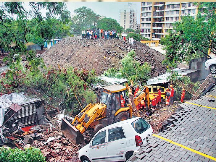 'स्मार्ट सिटी'ची संरक्षक भिंत कोसळते! (अग्रलेख)|ओरिजनल,DvM Originals - Divya Marathi