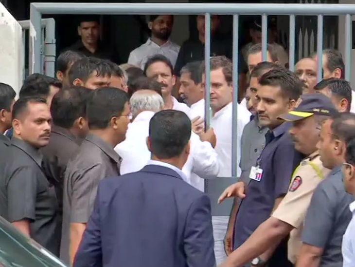 RSS मानहानी: राहुल गांधींची शिवडी कोर्टात हजेरी, विधानावर राहुल गांधी ठाम, तरी निर्दोष असल्याचा दावा|मुंबई,Mumbai - Divya Marathi