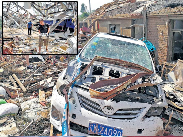 चीनला चक्रीवादळाचा तडाखा : ९ हजार लोक बेघर, बचावकार्याला वेग|विदेश,International - Divya Marathi