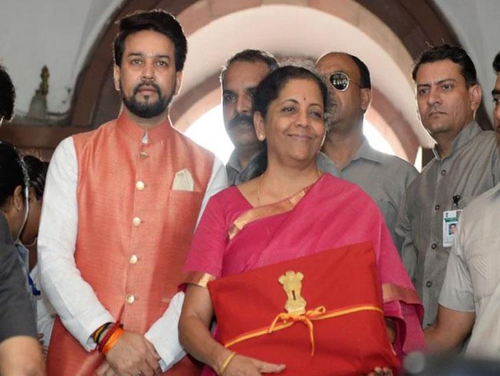 मोदी सरकार 2.0; निर्मला सीतारमण यांनी सादर केला अर्थसंकल्प, जाणून घ्या कोणाला काय मिळाले...?|देश,National - Divya Marathi